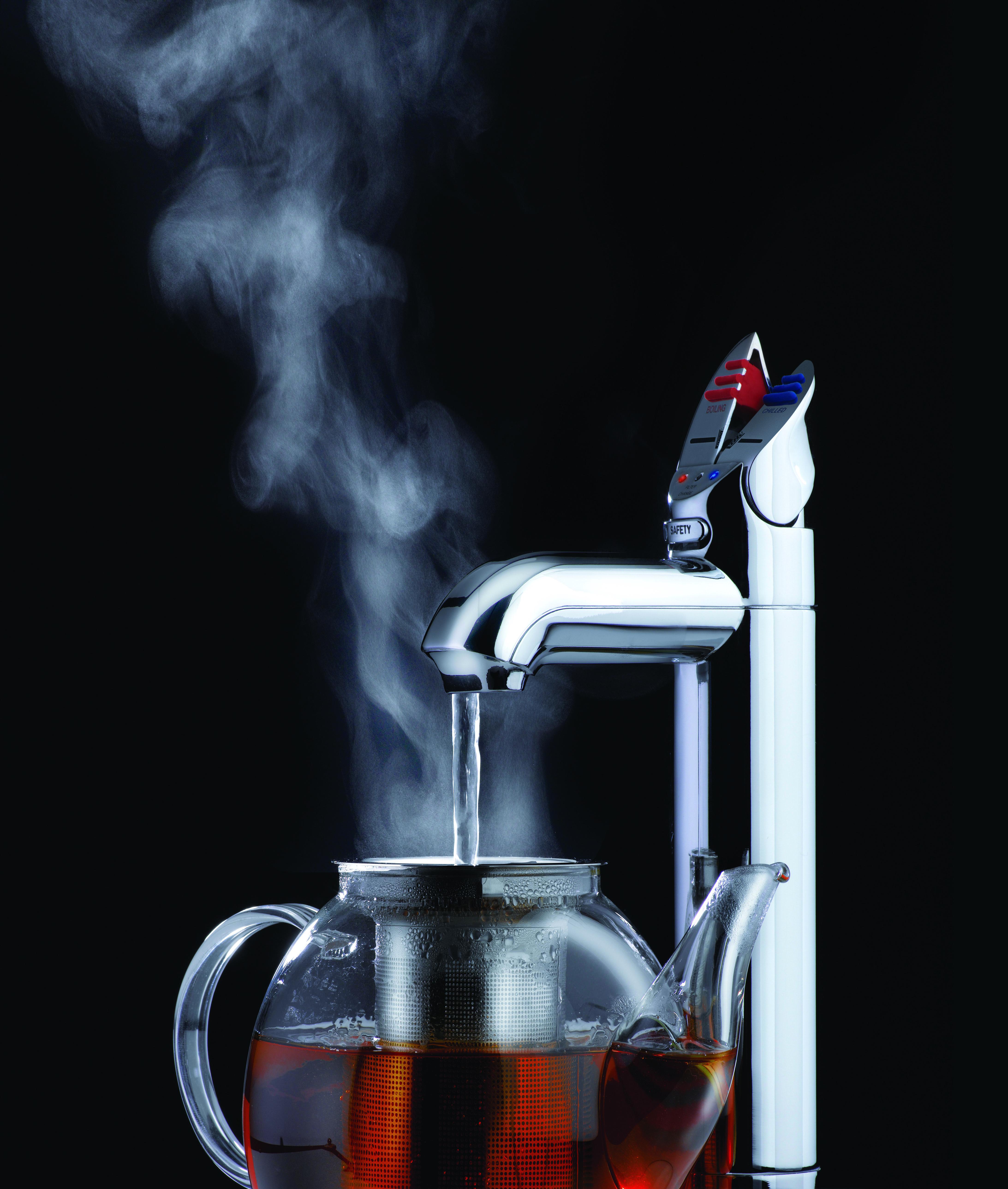 Trend-Produkt: Mit Festwasserspendern durch die kalte Jahreszeit