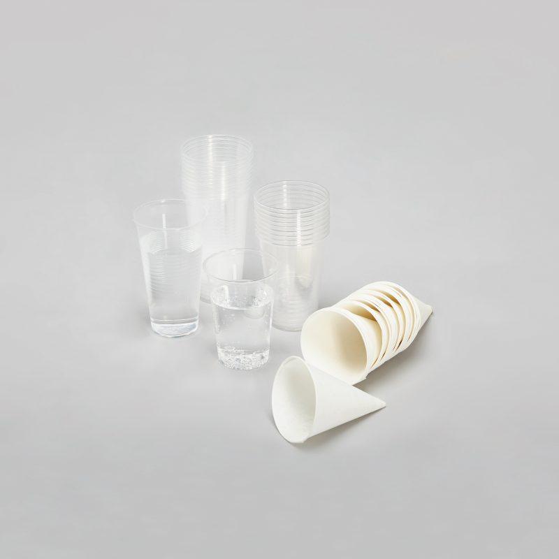 Trinkbecher PLA aus Maisstärke, Trinkbecher aus Papier