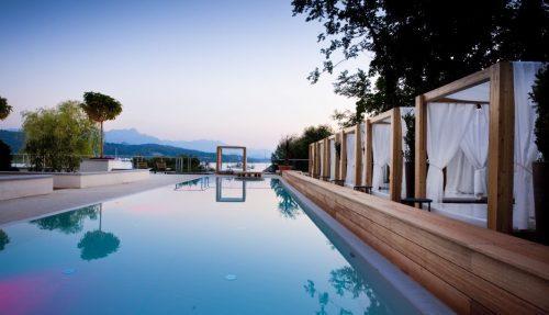 Österreichs schönste Hotels am Wasser