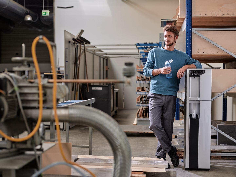 Festwasserspender in Unternehmen