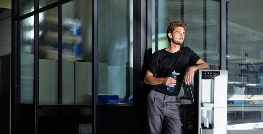 Festwasserspender für Unternehmen