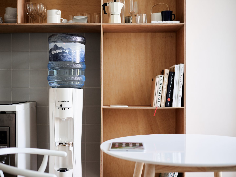 Wasserspender Front