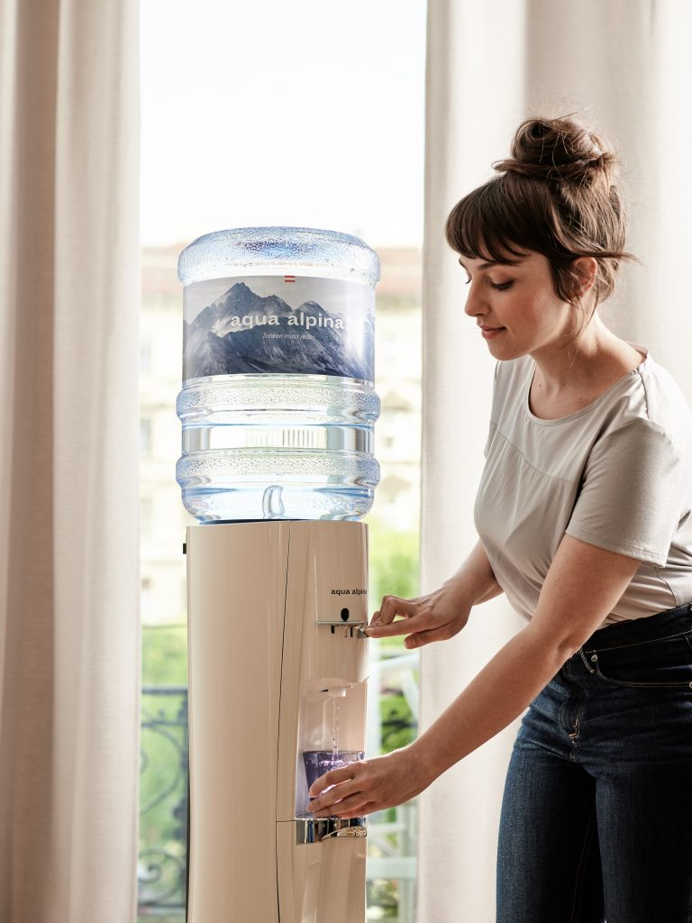Alpenwasser-Abo für Zuhause