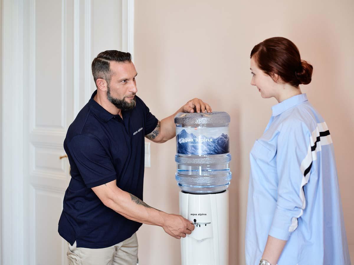 Wasserspender Hygiene