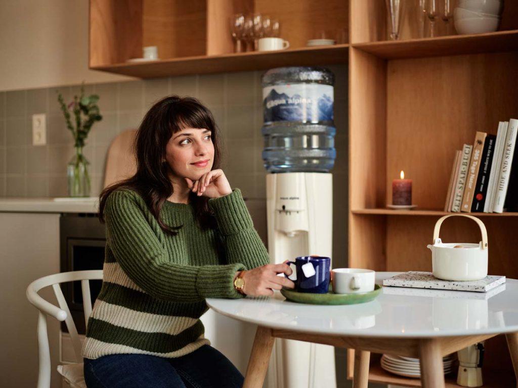Wasserspender in Wohnung