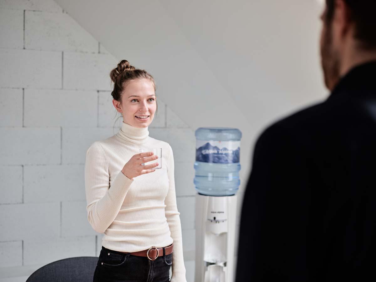 Wasserspender im Büro