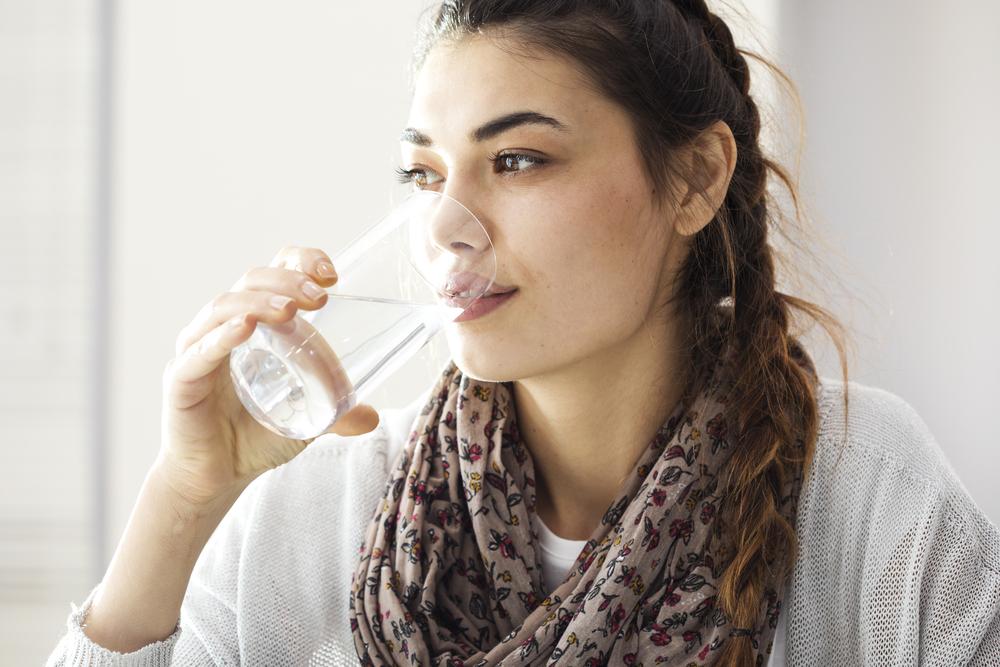 Wasser: Der Frischekick für die Haut!