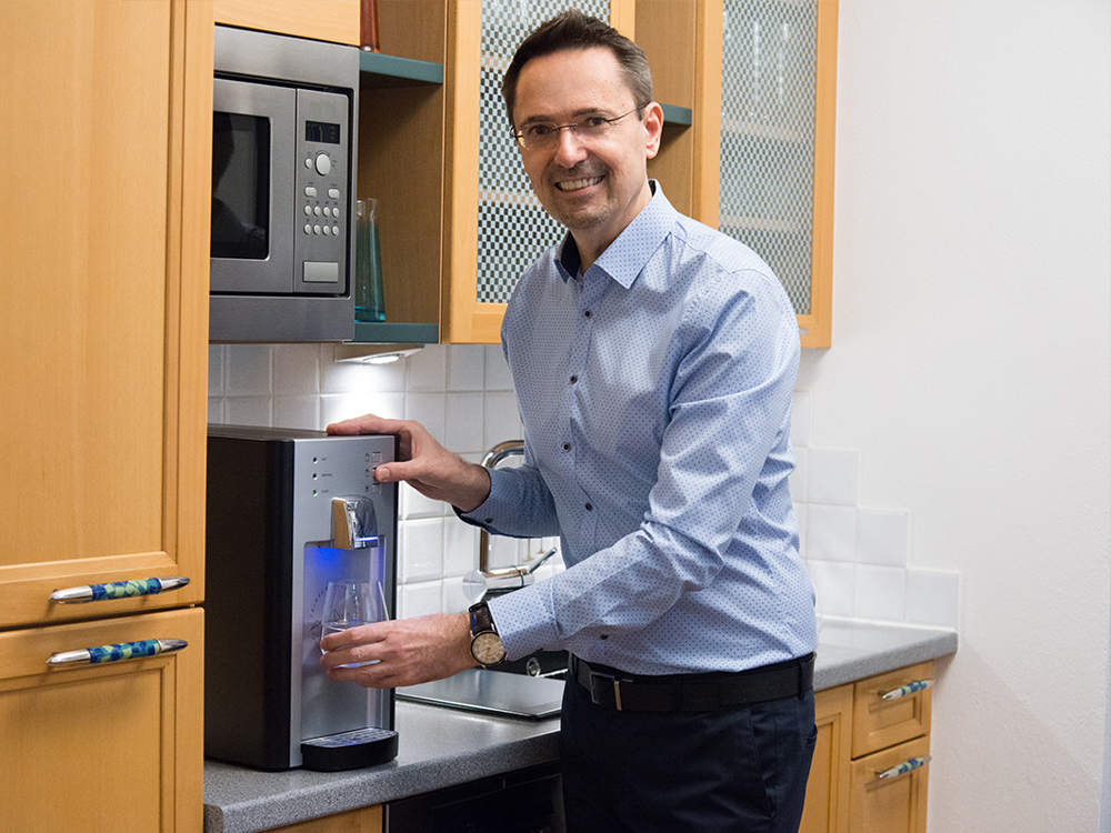 Dr Gerhard Ritz überzeugt vom SodaFresh