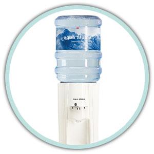 Festwasserspender von aqua alpina