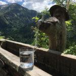 Aqua Alpina Glas Vor Waserhahn In Alpen