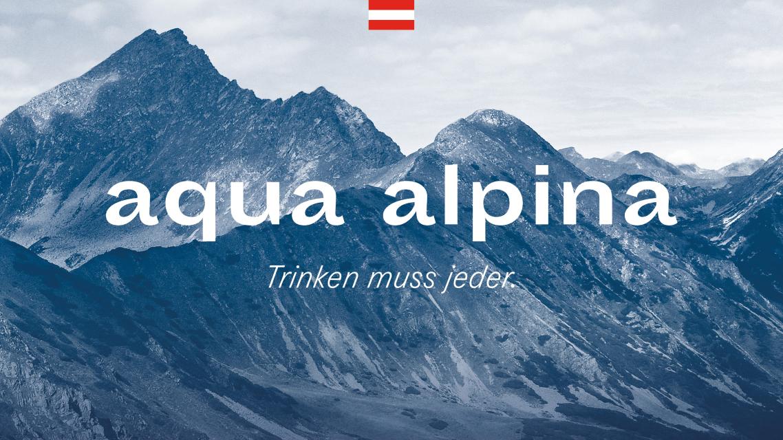 Alpenwasser nach Hause geliefert: Täglicher Luxus in einer Zeit krasser Einschränkung