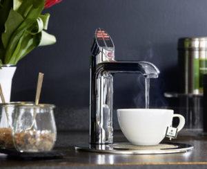 Teezubereitung mit Hydrotap