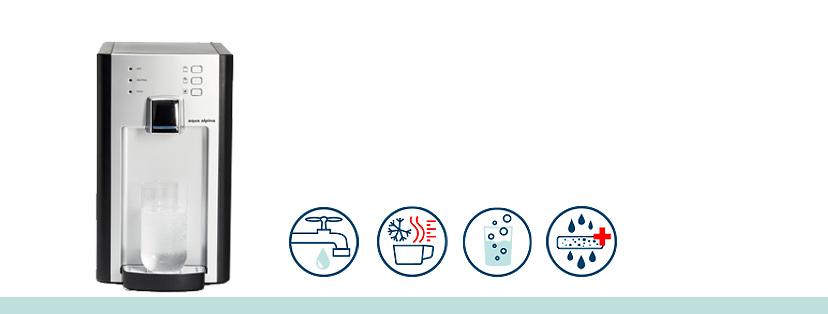 Festwasserspender Tischgerät Funktionen