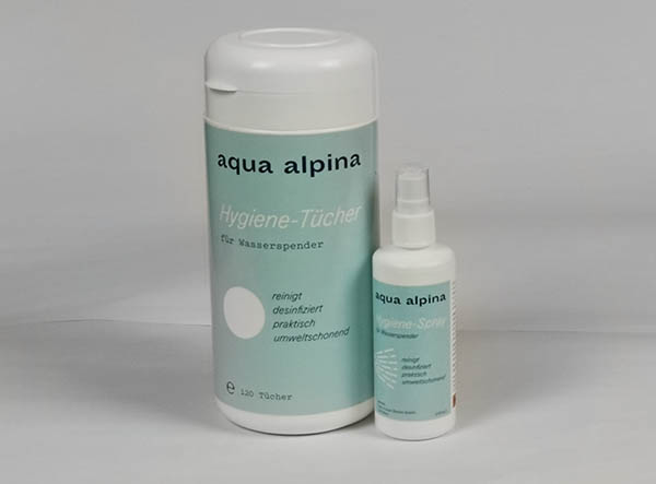 Hygienespray & Hygienetücher