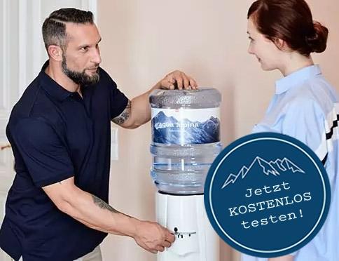 Techniker erklärt Wasserspender - Kostenlos Testen
