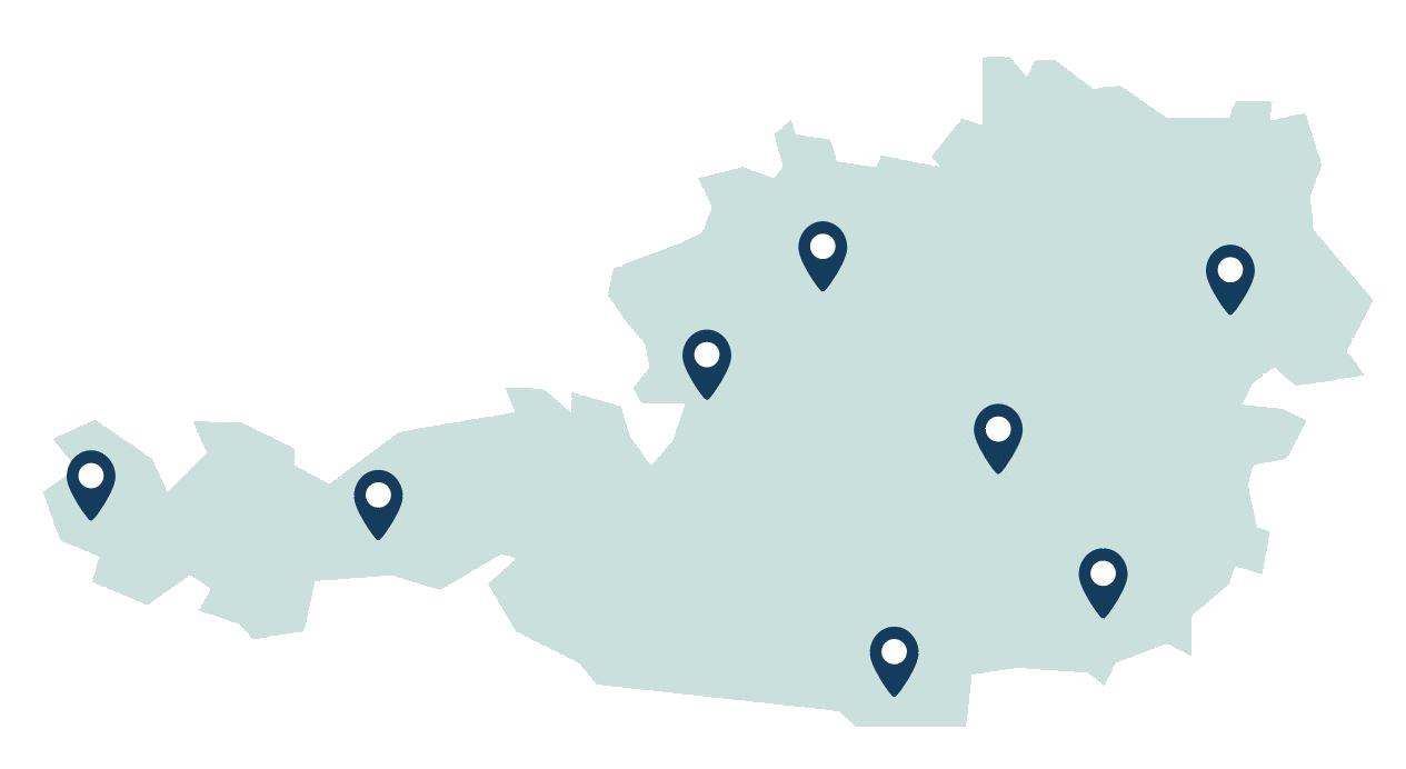Oesterreich Standorte Aqua Alpina