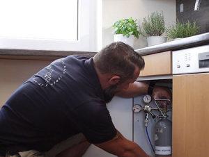 Installation Festwasserspender Soda Fresh 1