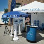 Messestand aqua alpina Nivea Familienfest